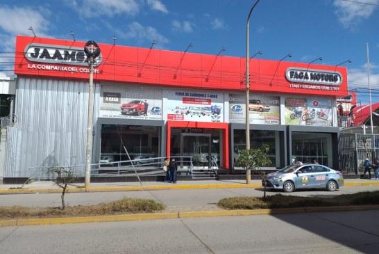 Faga Motors y Jaamsa  inauguran nuevo showroom en Huancayo