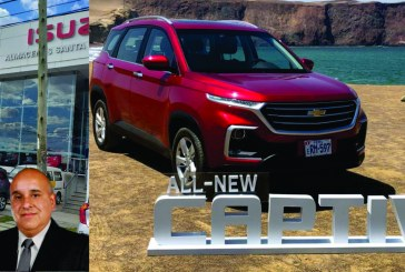 Chevrolet All New Captiva 2019 llegó a Huancayo