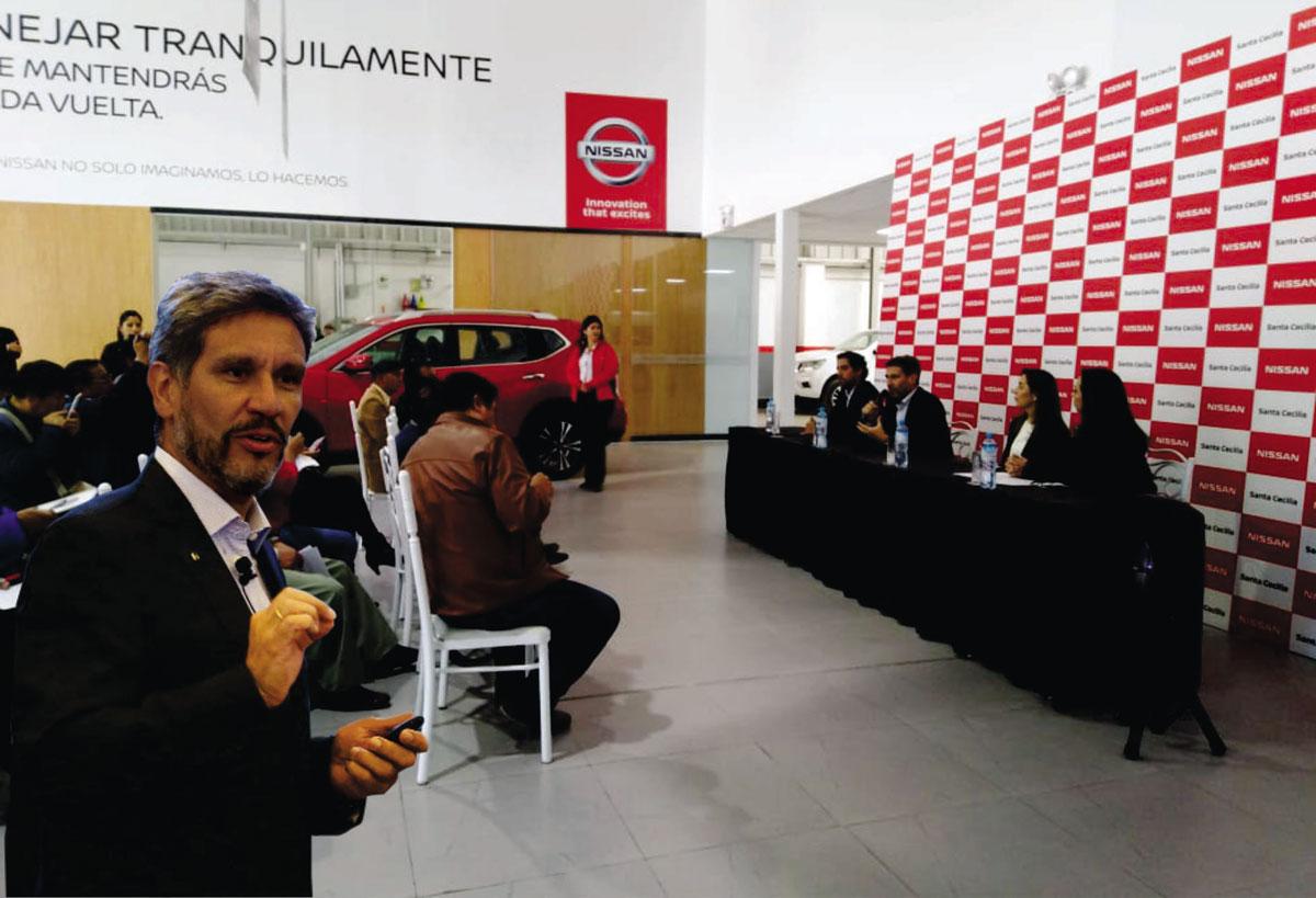 NISSAN PERÚ INAUGURA UN NUEVO CONCESIONARIO EN HUANCAYO