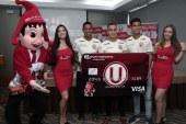 Presentan nueva tarjeta débito con diseño exclusivo de Universitario de Deportes