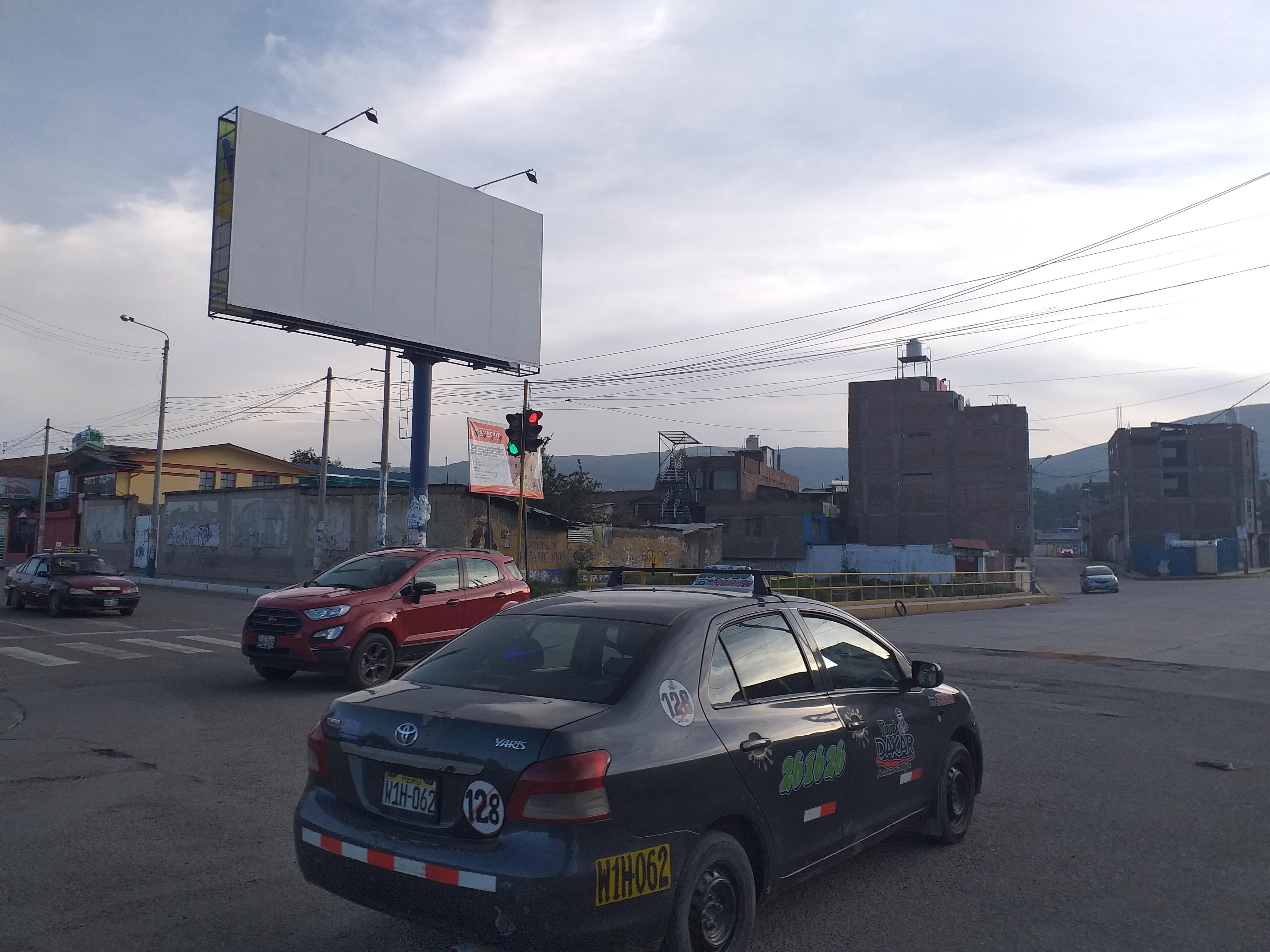 Paneles publicitarios en Huancayo, Yauli - La Oroya, Tarma Pichanaqui, Satipo