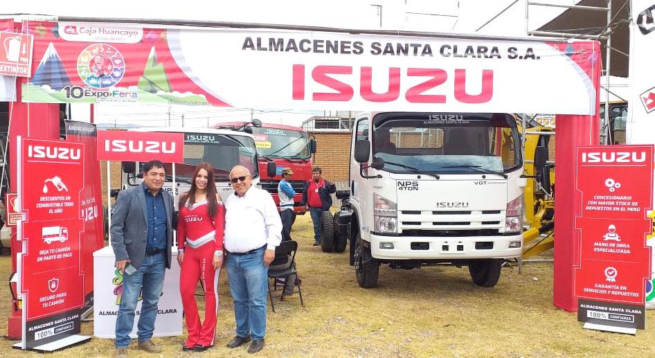 General Motors está presente en X Expo Feria de Caja Huancayo.