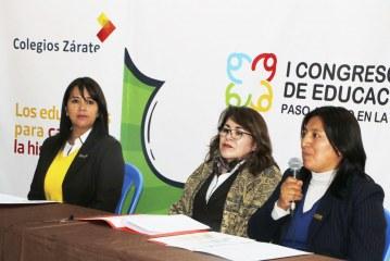 Colegios Zárate presenta el I Congreso Regional de Educación Inicial