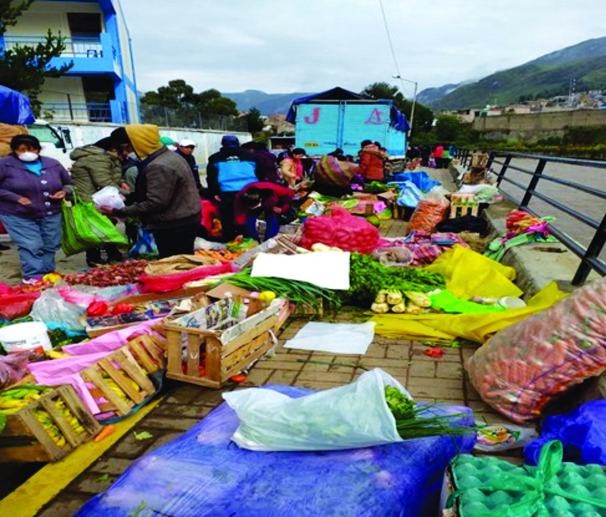 Huancavelica abastecerá con más de 50 Tn. De productos agropecuarios a mercados de Lima.