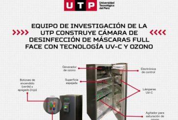 UTP ENTREGA CÁMARA DE DESINFECCIÓN CON TECNOLOGÍA UV-C Y OZONO A HOSPITAL EN AREQUIPA