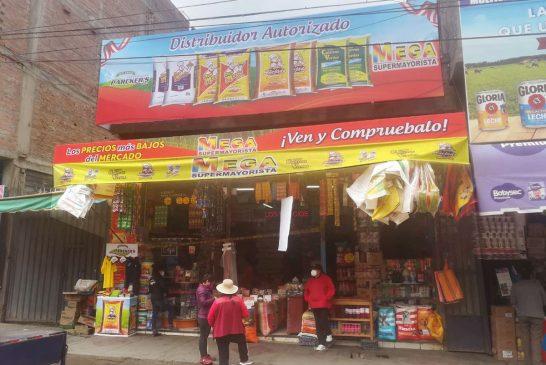 Mega supermayorista, sólo productos de marca