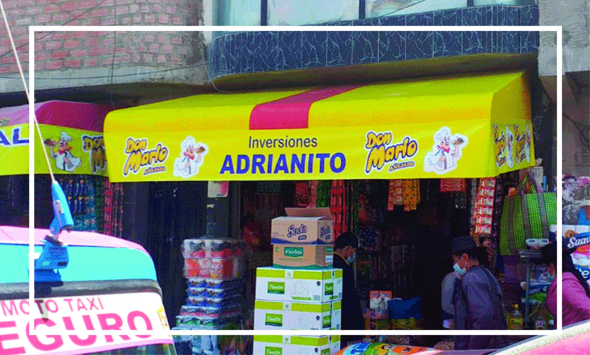 TOLDOS PUBLICITARIOS Y BRANDEO EN PUNTOS DE VENTA