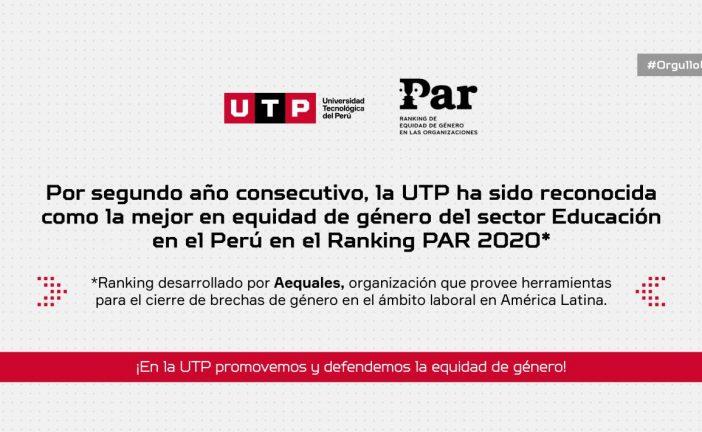 En la UTP, promovemos y defendemos la equidad de género.
